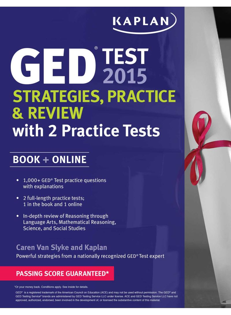 Kaplan Ged Test 2015 Strategies Practice And Review With 2