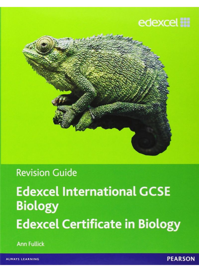 Buy Edexcel Igcse Biology Revision Guide With Student Cd - Paperback in UAE