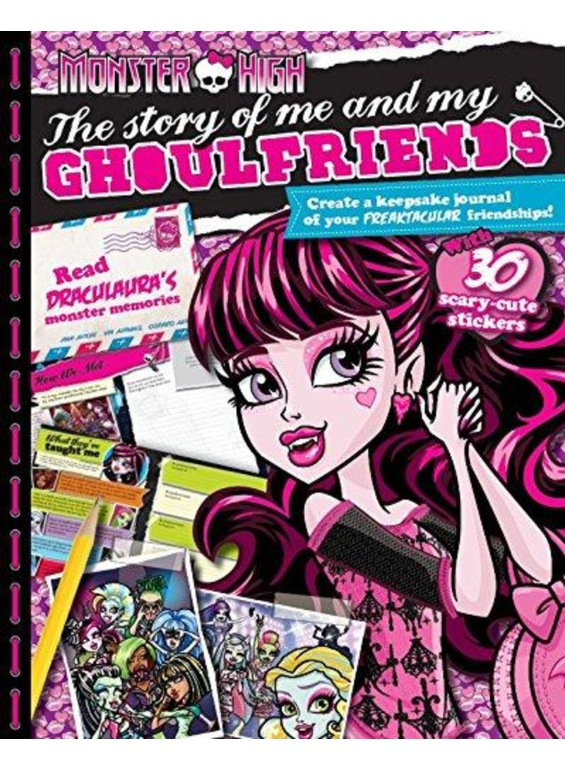 Buy Monster High The Story Of Me And My Ghoulfriends