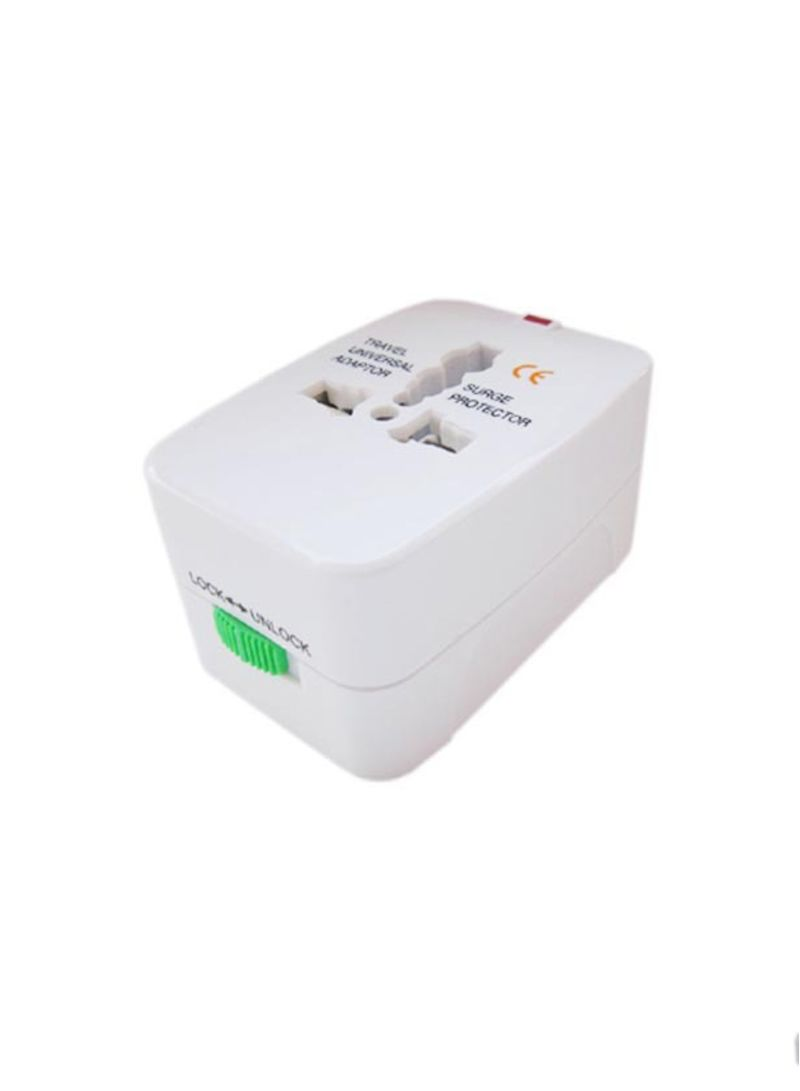 Shop Mifan All-In-One Universal Travel Adapter Plug White online in Riyadh,  Jeddah and all KSA