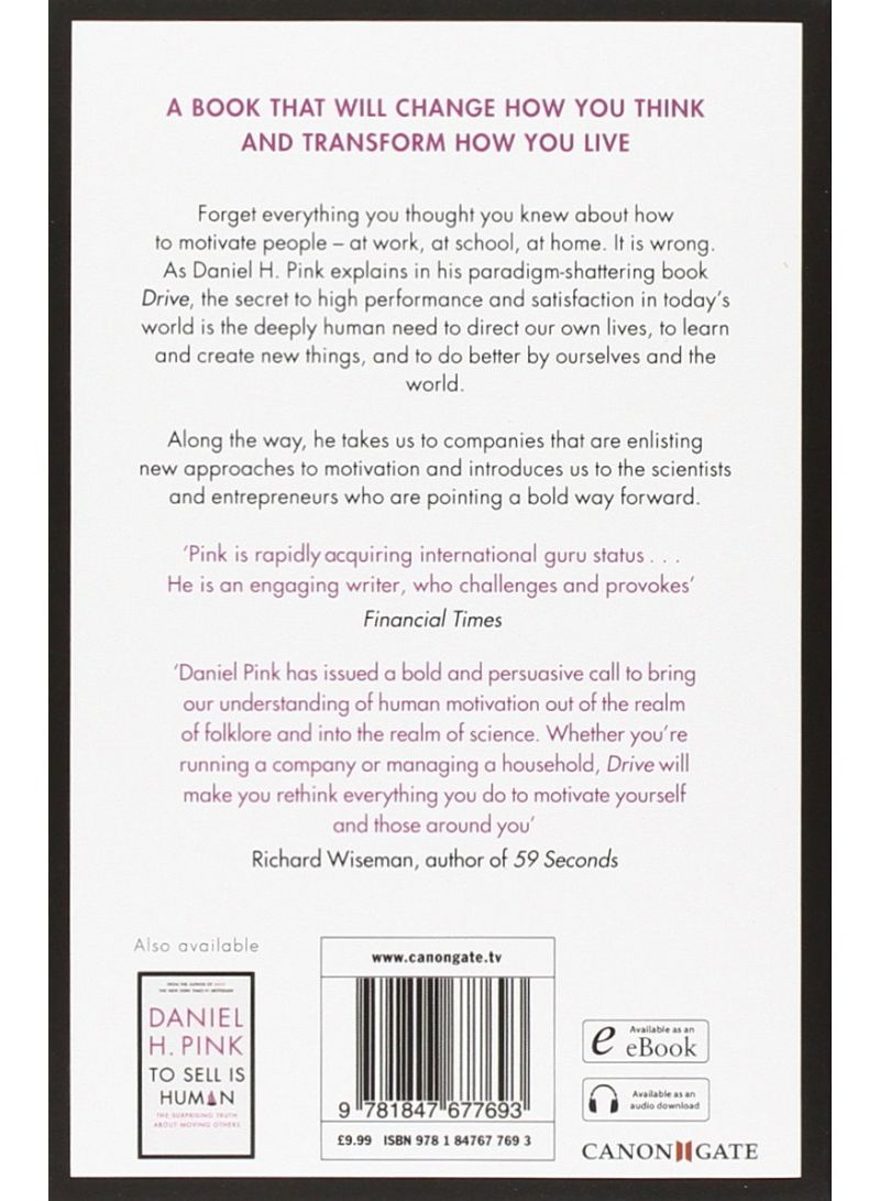 59 Seconds Richard Wiseman shop drive - paperback main edition online in egypt