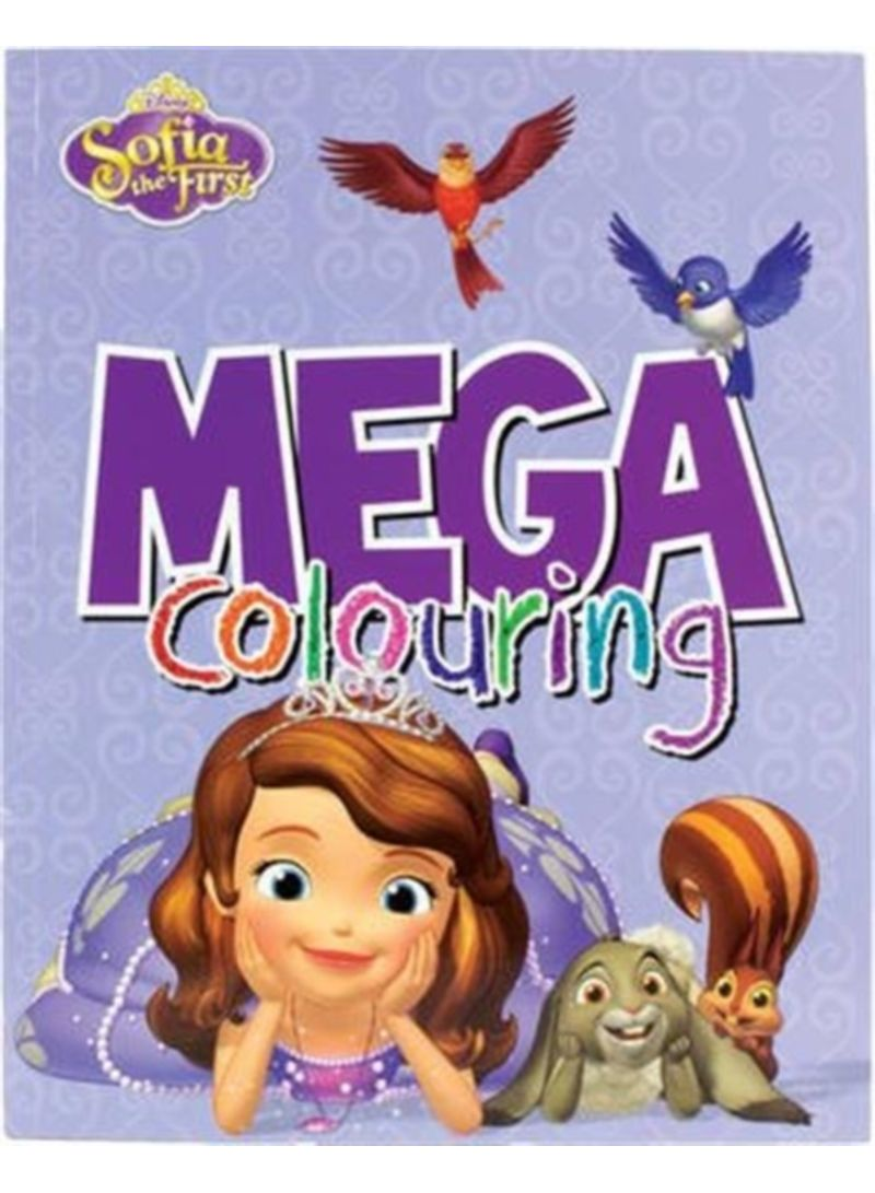 Shop Disney Junior Sofia the First Mega Colouring - Paperback online in  Dubai, Abu Dhabi and all UAE