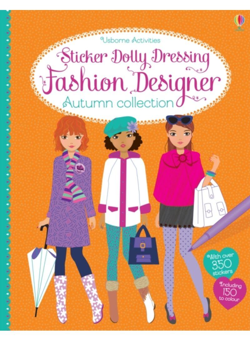 Sticker Dolly Dressing Fashion Designer Autumn Collection Paperback Price In Uae Noon Uae Kanbkam