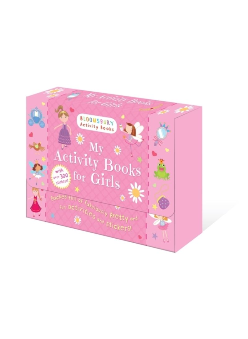 My Activity Books For Girls By Bloomsbury Paperback Sticker Pretty Pink Buy In Uae