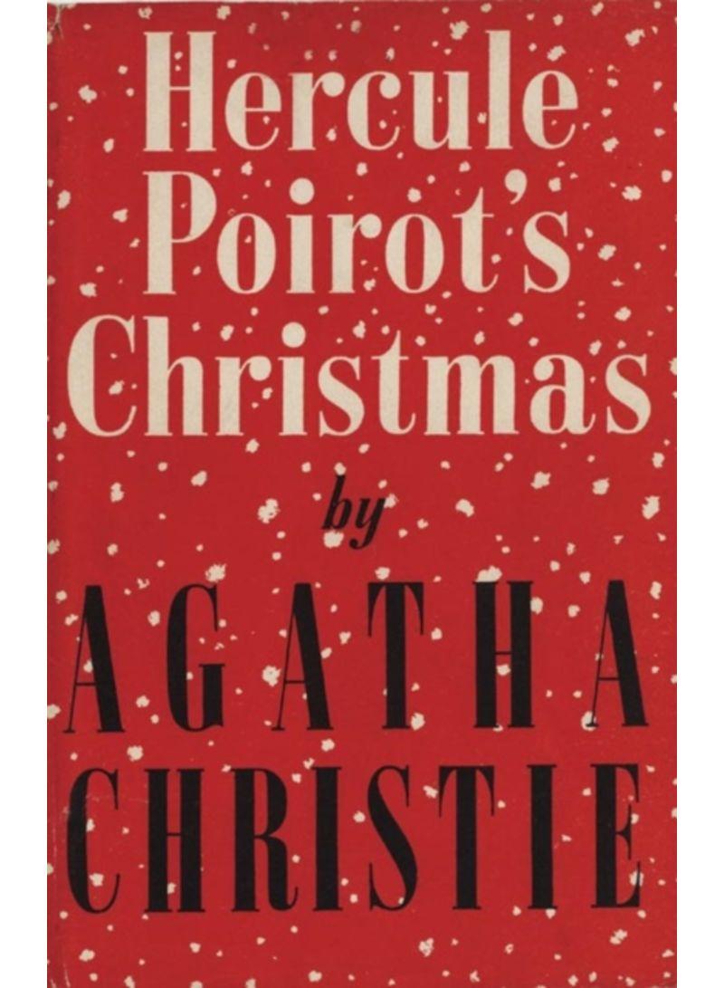 Hercule Poirots Christmas.Shop Hercule Poirot S Christmas Poirot Facsimile Edition Hardcover Online In Dubai Abu Dhabi And All Uae
