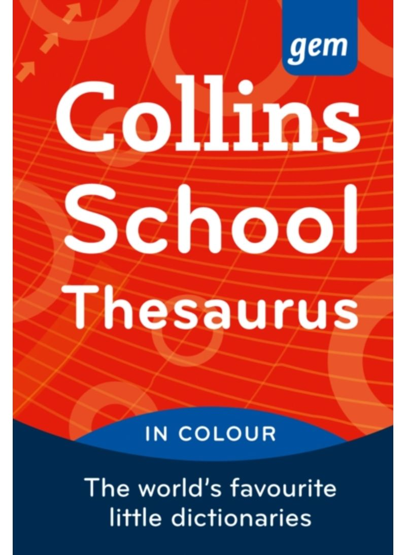 Collins GEM School Thesaurus - Paperback