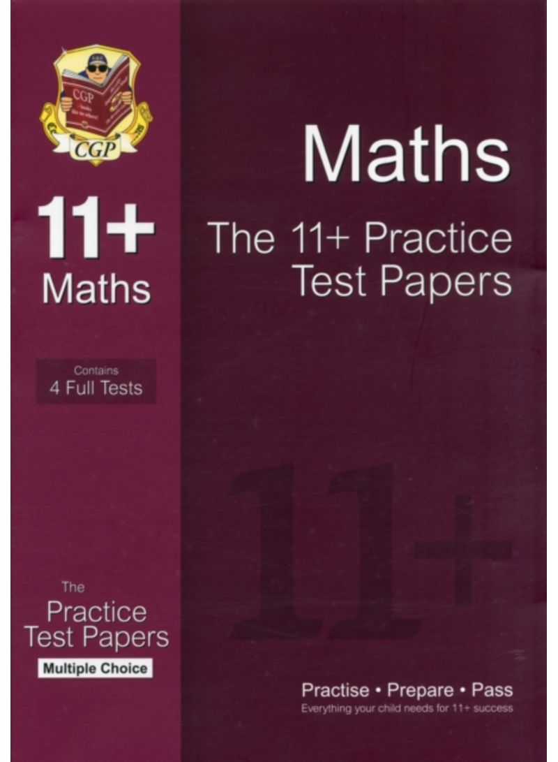 11+ Maths Practice Test Papers - Paperback | Books | kanbkam.com