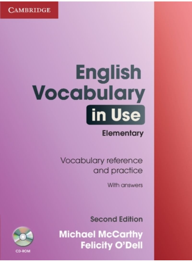 English vocabulary in use elementary with answers and cd rom english vocabulary in use elementary with answers and cd rom paperback fandeluxe Gallery