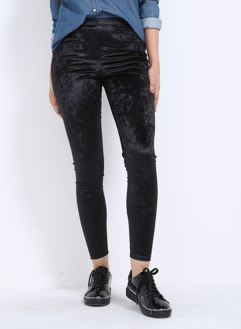 2858eb54c تسوق سدن وبنطلون رسمي بأرجل واسعة أسود أونلاين في الإمارات