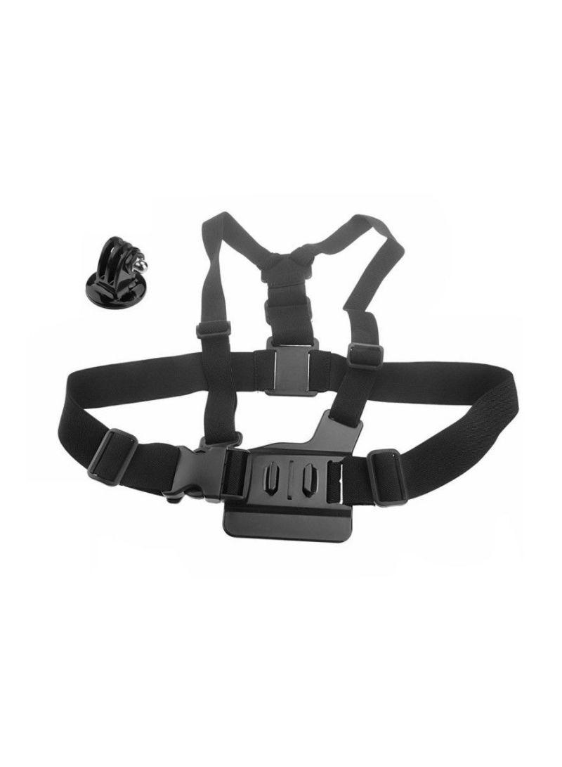 Adjustable Elastic Body Chest Strap Shoulder Belt And Tripod