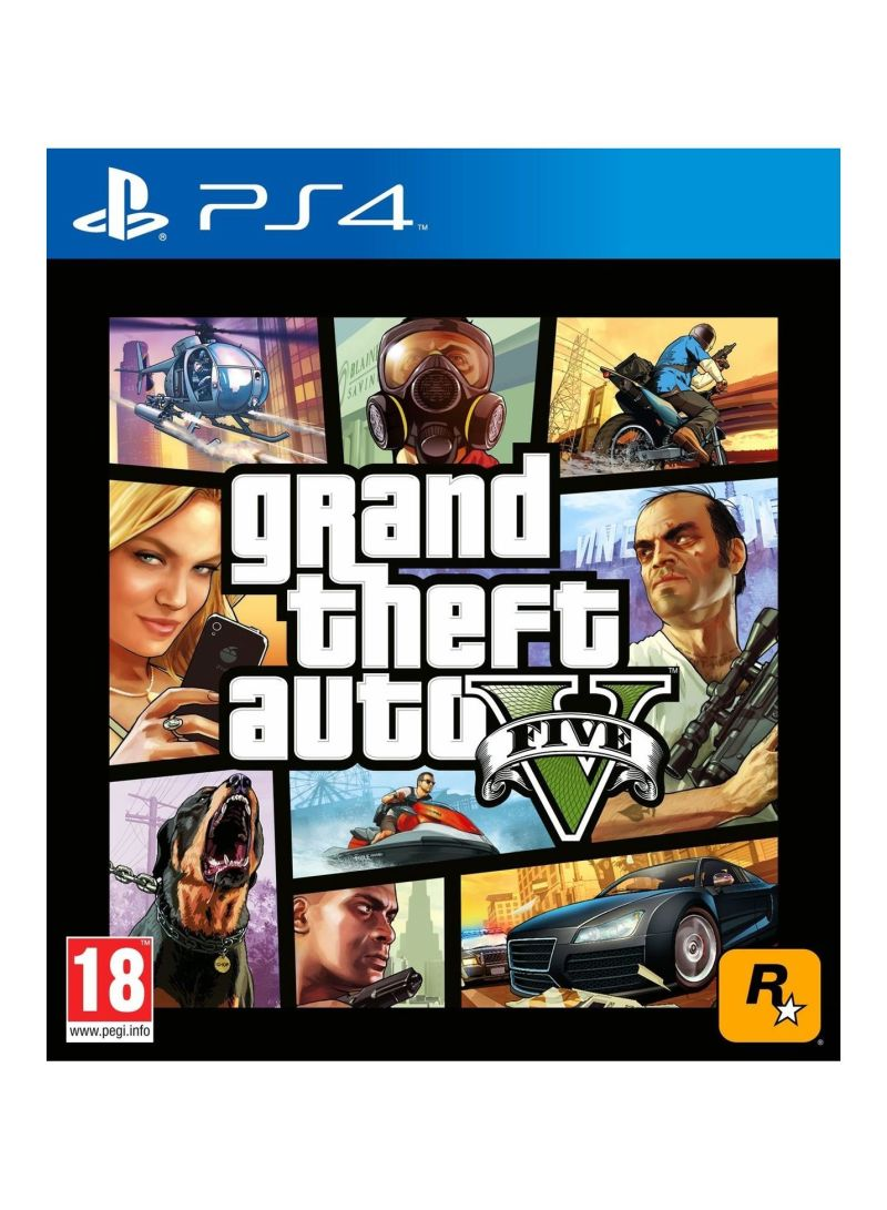 grand theft auto 5 pal playstation 4 video games