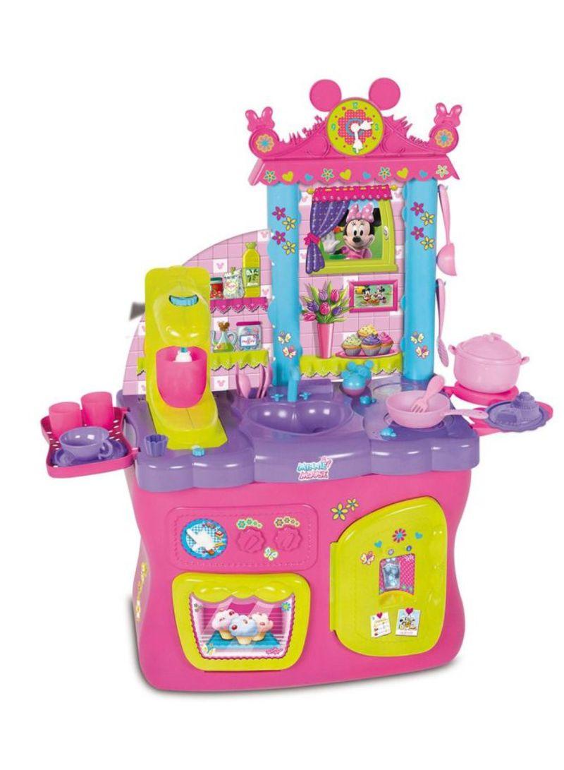 Shop Imc Toys Minnie Mouse Kitchen Set Online In Dubai Abu Dhabi