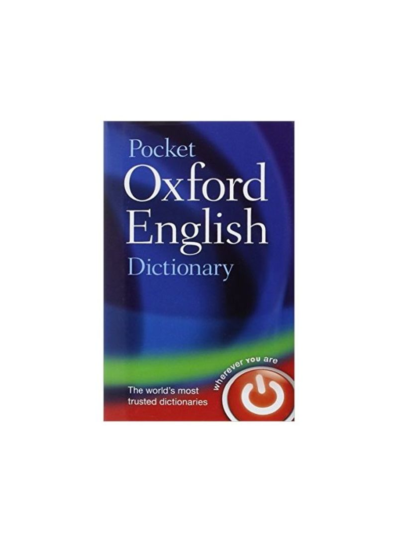 Pocket Oxford English Dictionary Oup Oxford - غلاف مقوى