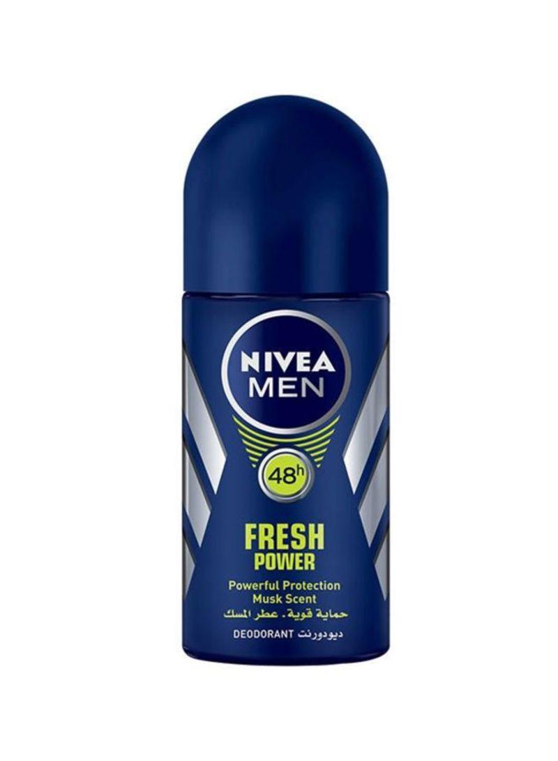 9813101a7 Shop Nivea Deo Roll-On Fresh Power 50 ml online in Dubai, Abu Dhabi ...