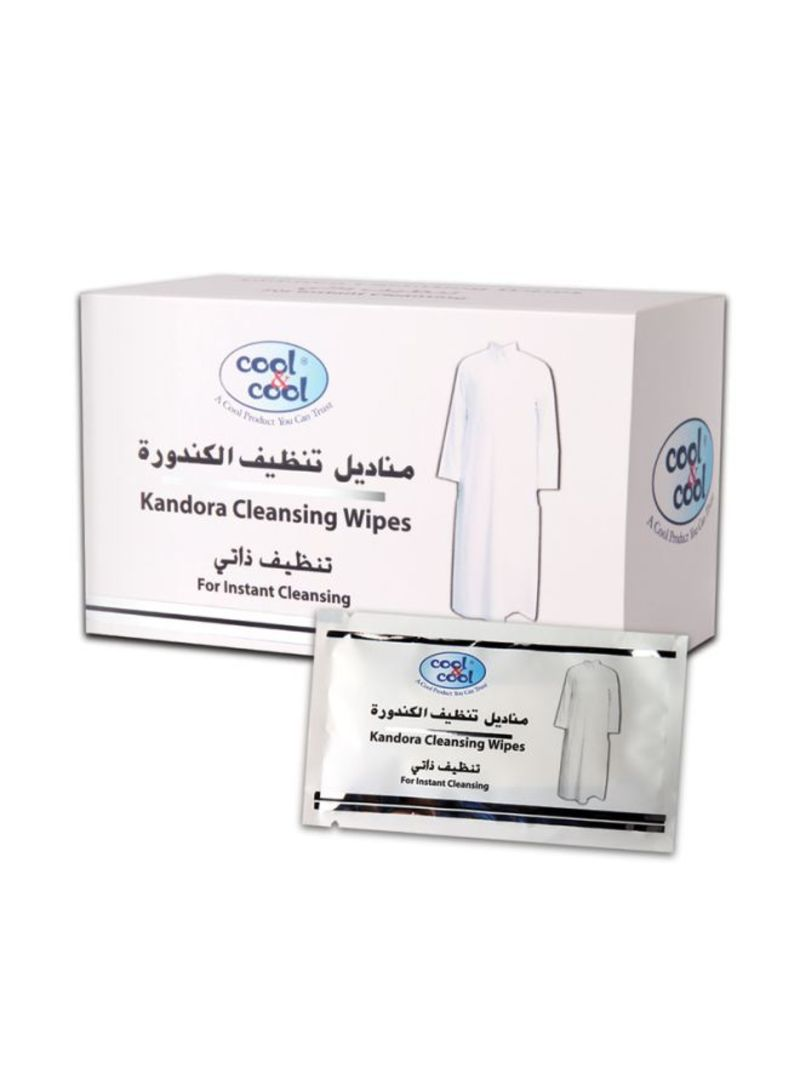 Kandora Cleansing Wipes 12 Sheets One Size