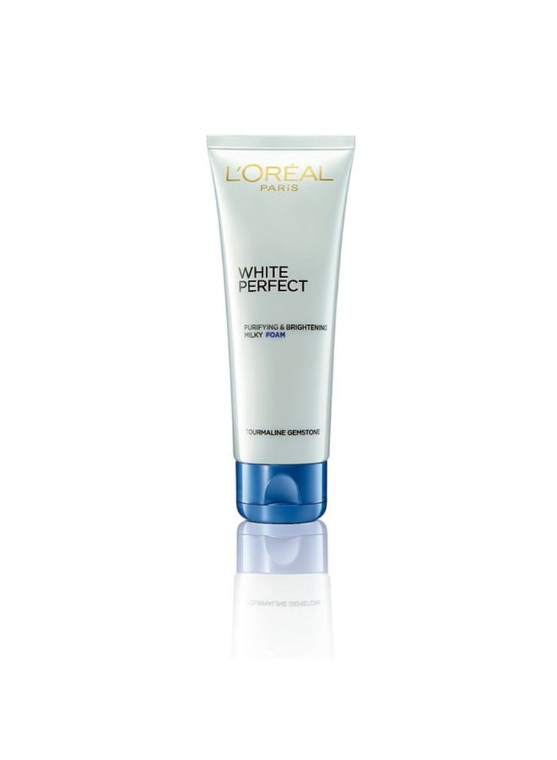 White Perfect Milky Foam Facial Cleanser 100 ml
