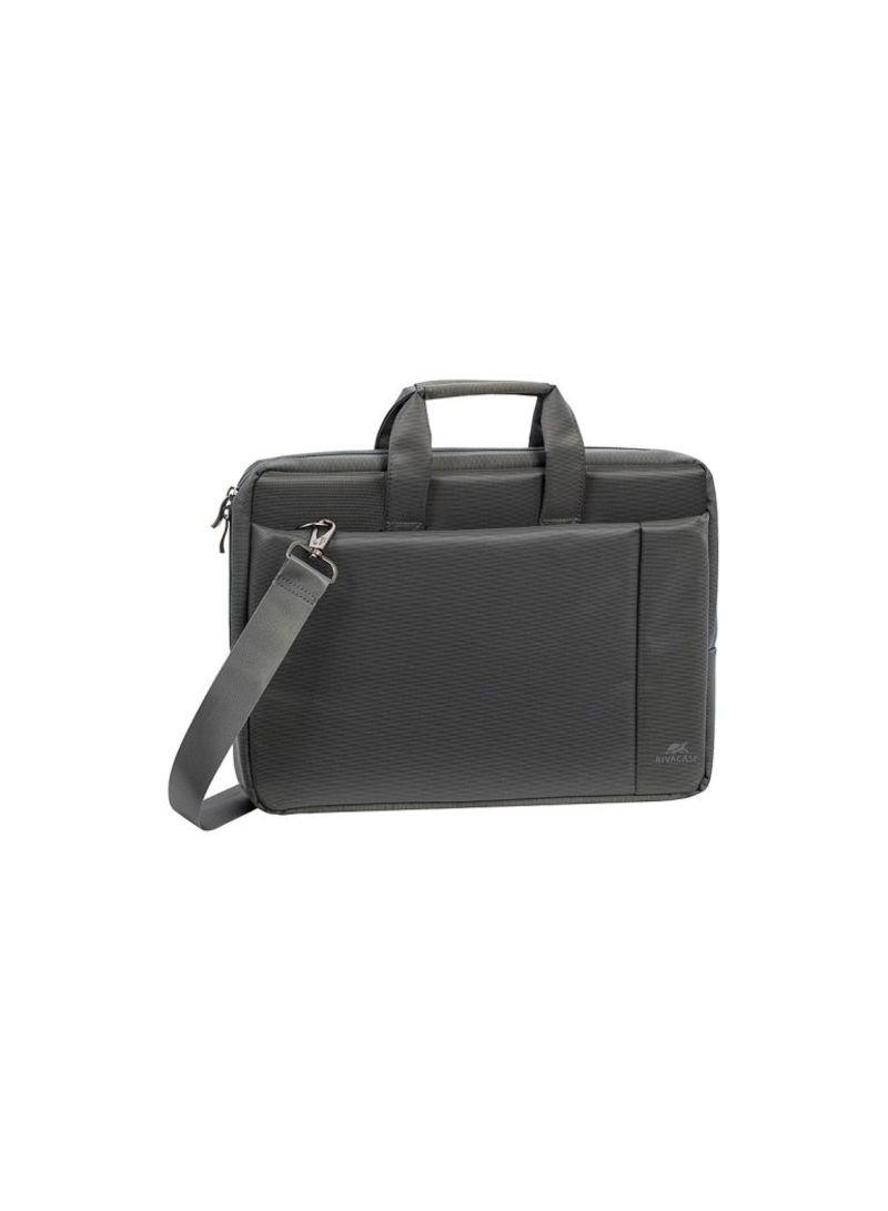 0751bd5d4b3f Shop RivaCase Laptop Bag For 15.6-Inch Laptops Grey online in Riyadh,  Jeddah and all KSA