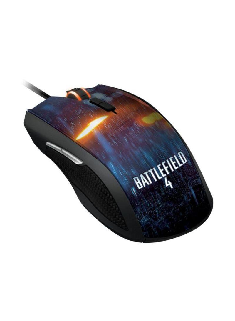 Taipan Battlefield 4 Gaming Mouse Black Pc Laptop Accessories Bloody B071 Medium Speed Pad