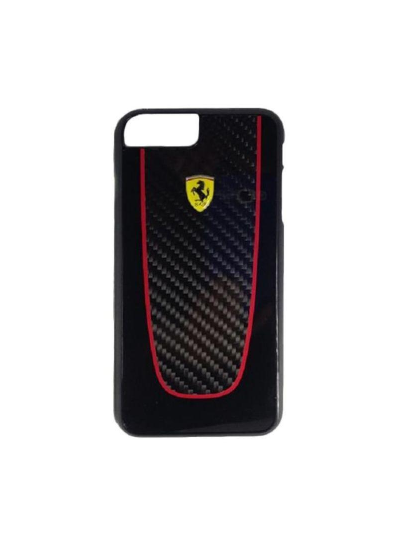 Shop Ferrari Pit Stop Real Carbon Fiber Hard Case For iPhone
