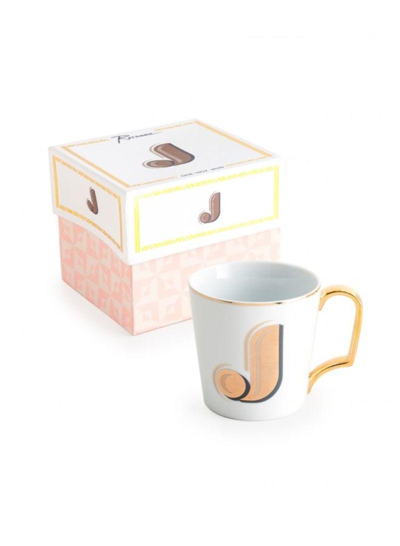Love Letter Mug J White | Kitchenware And Home Appliances | kanbkam.com