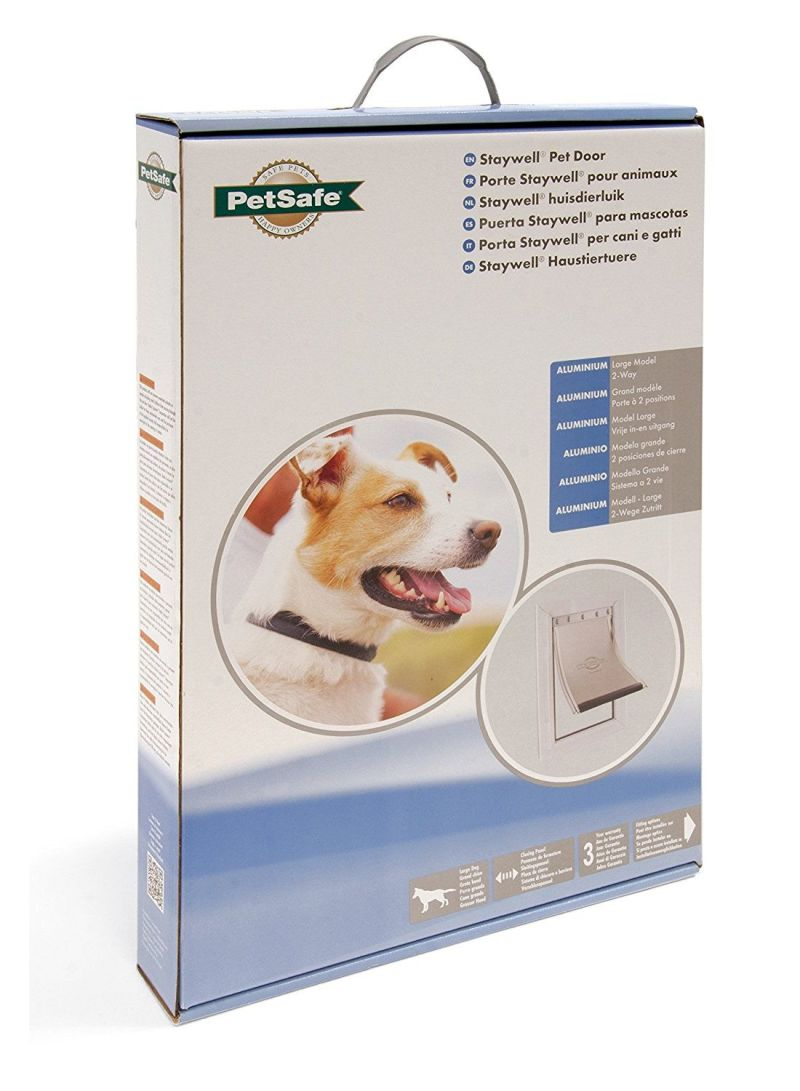 Shop PetSafe Aluminum Pet Door White Large online in Dubai, Abu Dhabi and  all UAE