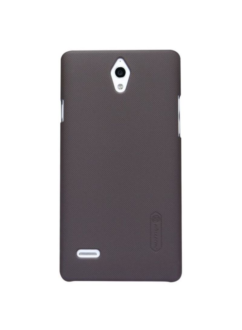Buy Super Frosted Shield Case For Huawei Ascend G700 Black in UAE