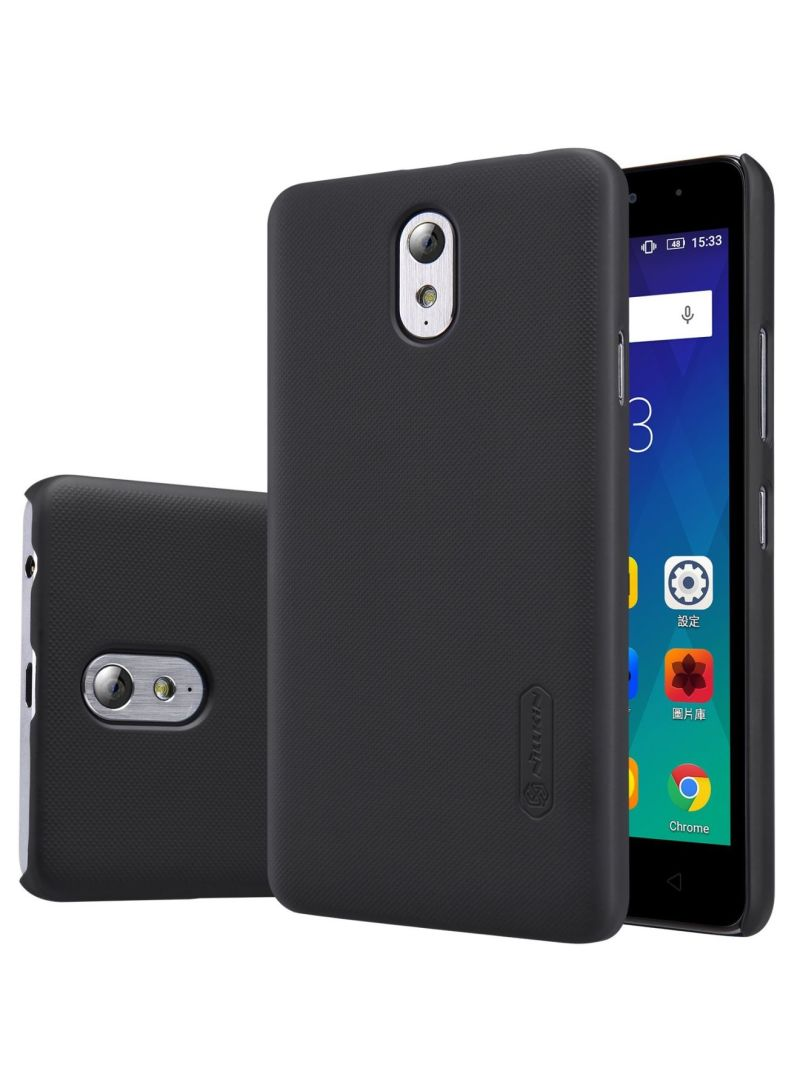 new concept 5880d cb46b Shop Nillkin Leather Frosted Shield Back Cover Case For Lenovo Vibe P1M  Black online in Dubai, Abu Dhabi and all UAE
