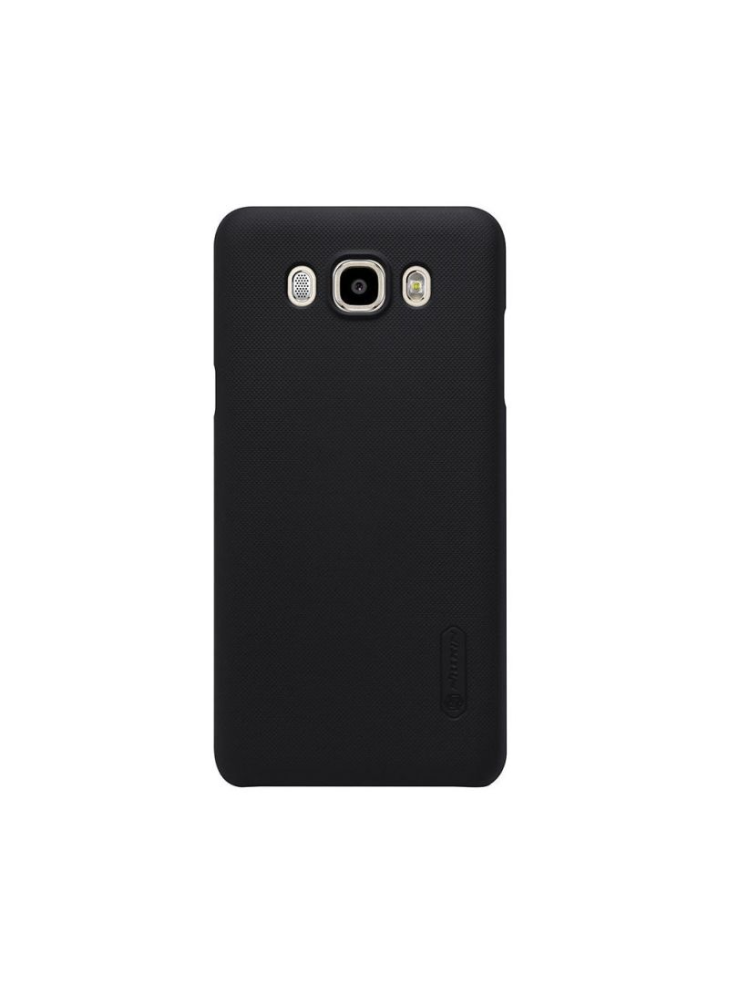 Buy Leather Super Frosted Shield Back Case With LCD Protector For Samsung Galaxy J710 J7108 Black