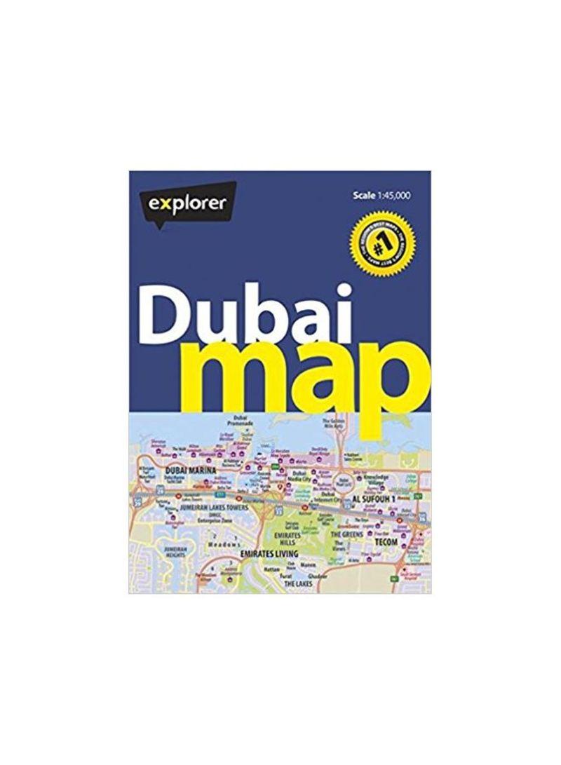 Shop Dubai Map Map online in Dubai, Abu Dhabi and all UAE