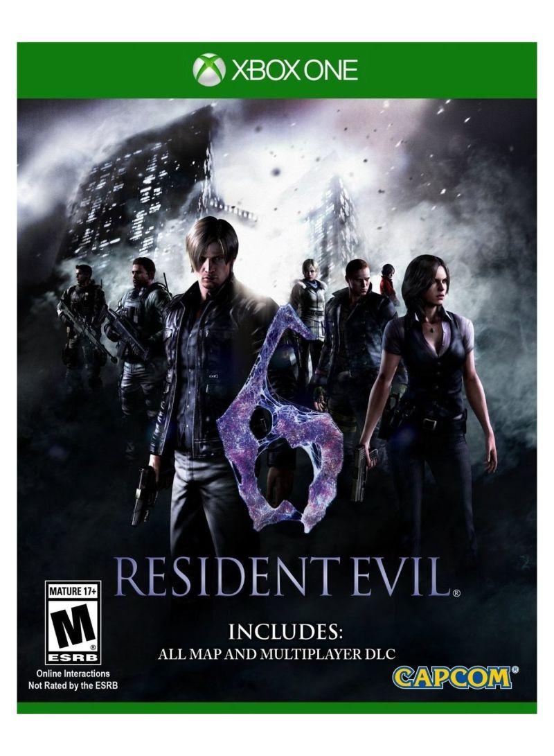 Shop Capcom Resident Evil 6 U S  Standard Edition Region Free - Xbox One  online in Dubai, Abu Dhabi and all UAE