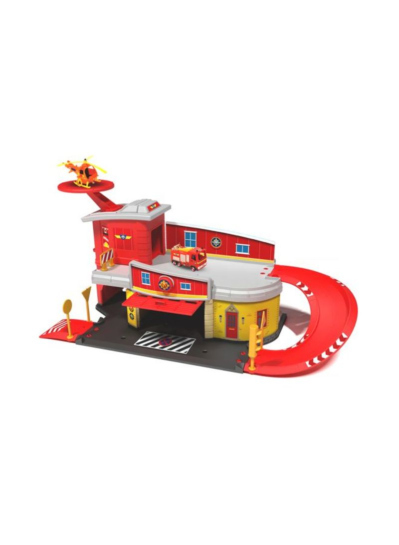 Shop Dickie Toys Fireman Sam Fire Rescue Centre online in