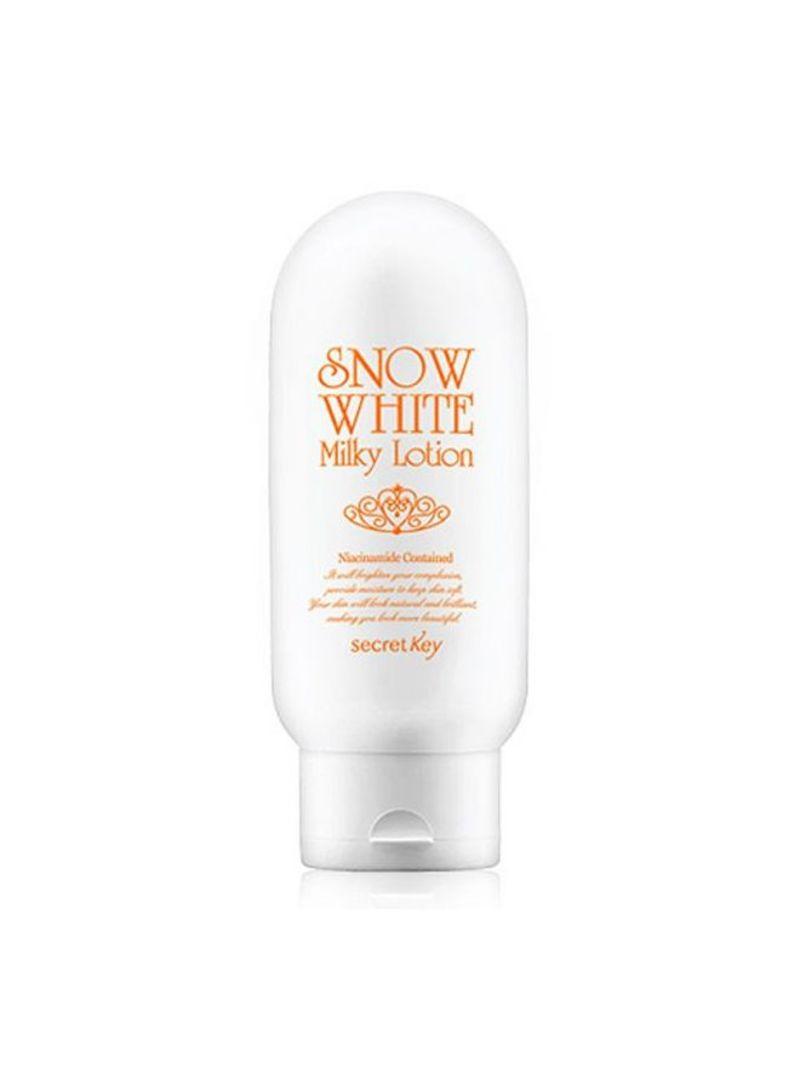 Shop Secret Key Snow White Milky Lotion 120 G Online In Cream