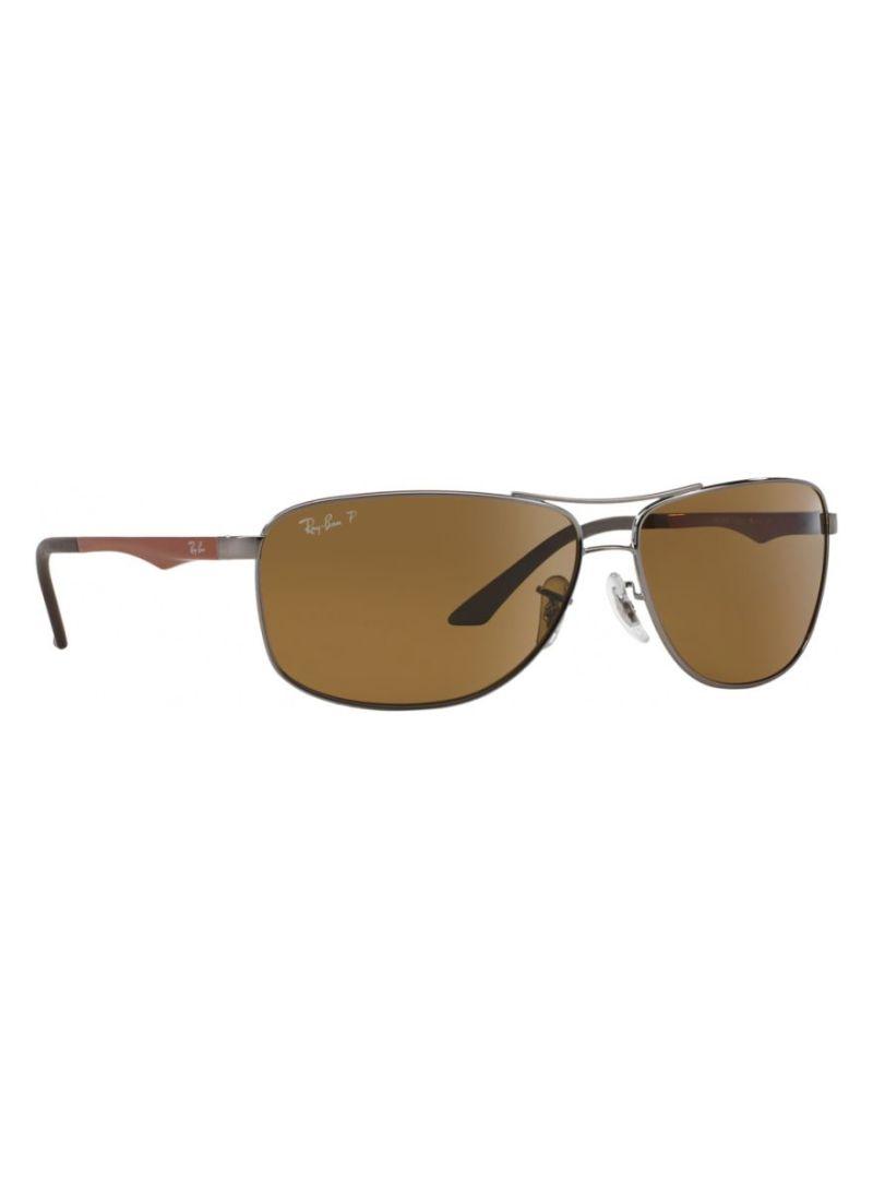 ca915c7831 Shop Ray-Ban Men  39 s Polarized Square Frame Sunglasses RB3506-132 ...