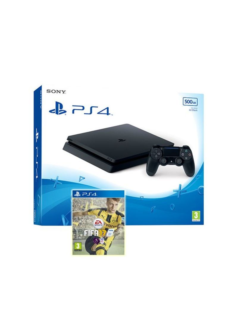 Playstation 4 500gb With Need For Speed Gaming Consoles Sony Ps4 Slim 2006 500 Gb Game Fifa 17 Buy In Uae