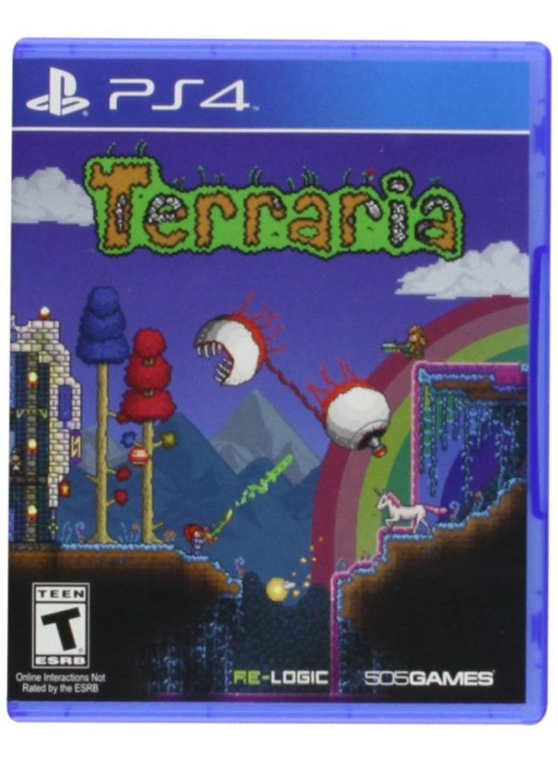 Terraria Video Game - PlayStation 4