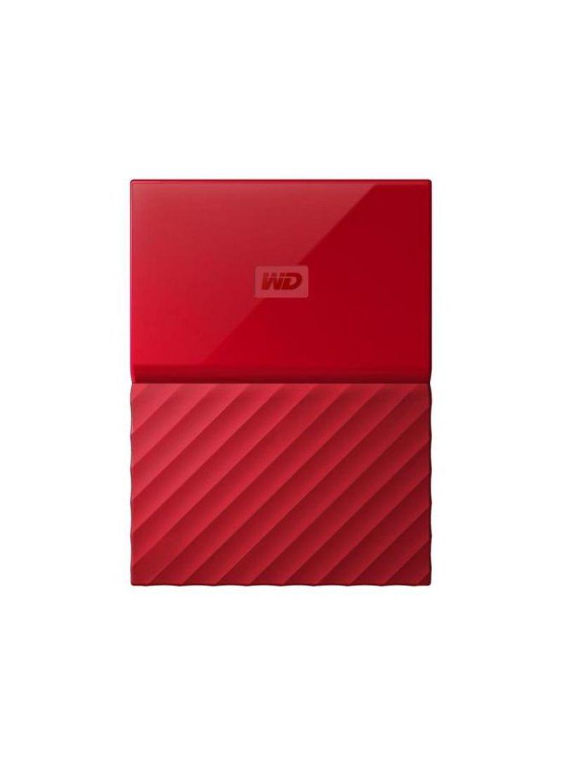 otherOffersImg_v1502807831/N11991207A_1. Western Digital. My Passport USB 3.0 Secure Portable Hard Drive Red 1 TB