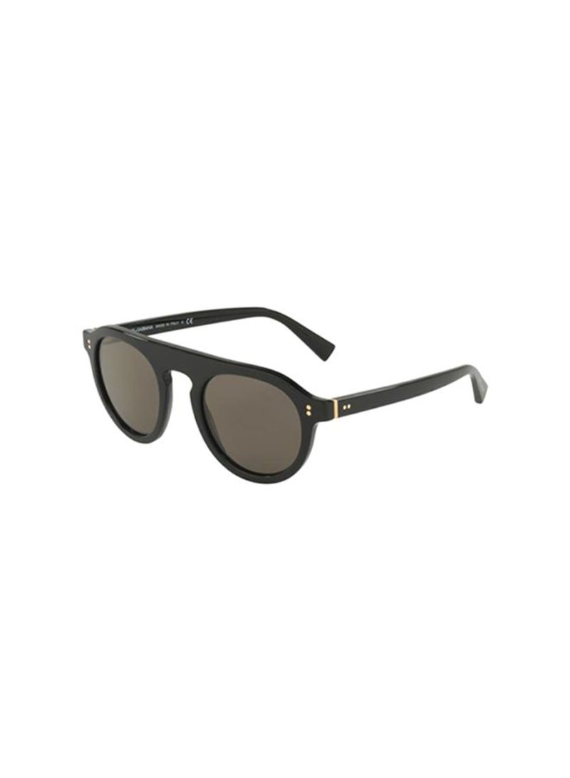 754ab4a40f18 Shop Dolce   Gabbana Men s Aviator Sunglasses DG4306-501 R5-50 ...