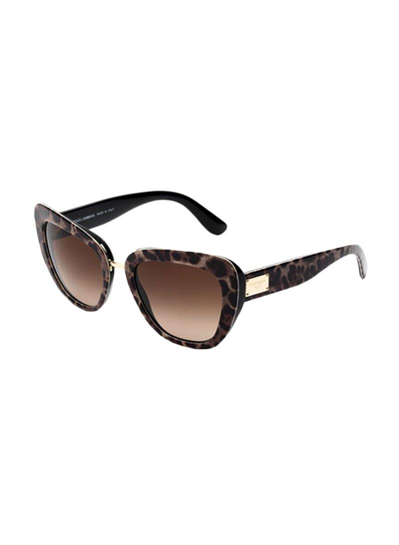 8510f4901775 otherOffersImg_v1502808481/N12016723A_1. Dolce & Gabbana. Women's Leopard  Print Cat Eye Sunglasses ...