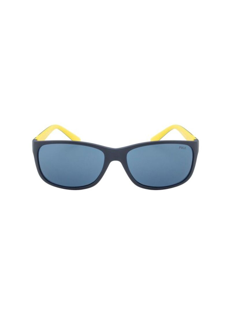 5f2eb3168 تسوق بولو رالف لورين ونظارات شمسية بإطار مربع الشكل طراز 4109 للرجال ...