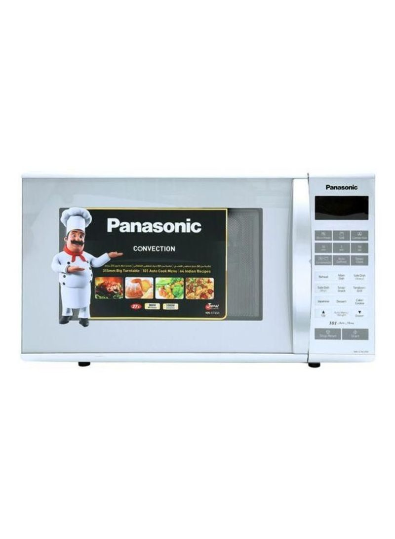 Convection Microwave Oven 27l Nnct651m Silver
