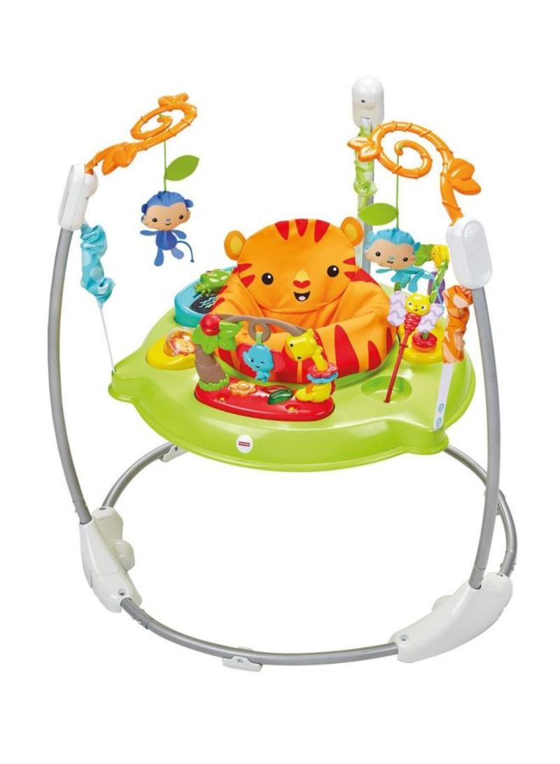 7380bfbe1967 Shop Fisher-Price Jumperoo Rainforest Baby Bouncer online in Riyadh ...