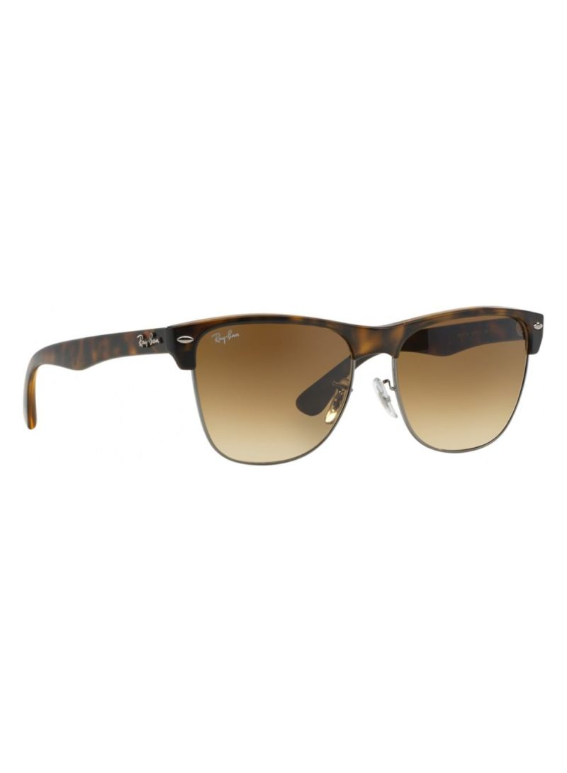 6acaae0da0 Shop Ray-Ban Men s UV-Protection Clubmaster Frame Sunglasses RB4175 ...