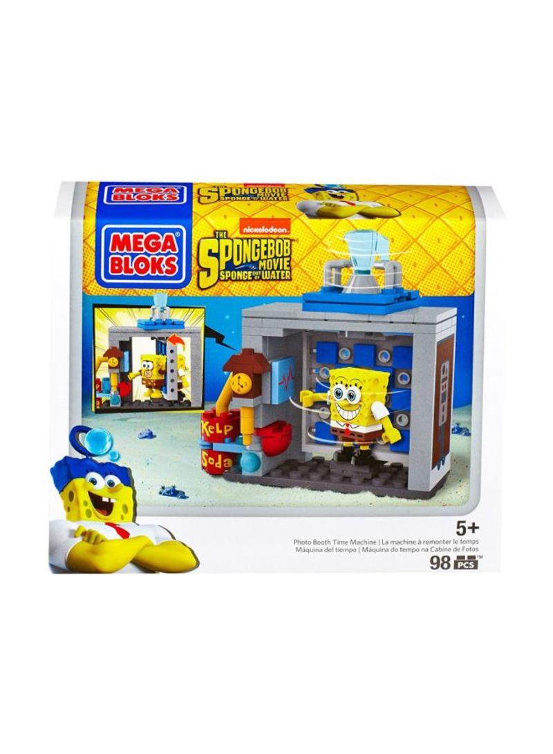 تسوق ميجا بلوكس ومجموعة ألعاب بناء سبونج بوب حجرة آلة السفر عبر