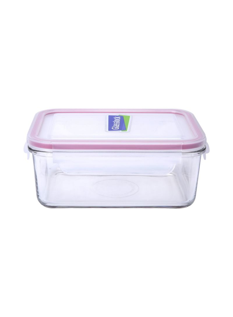 Buy Rectangular Container Clear 1100 ml in UAE