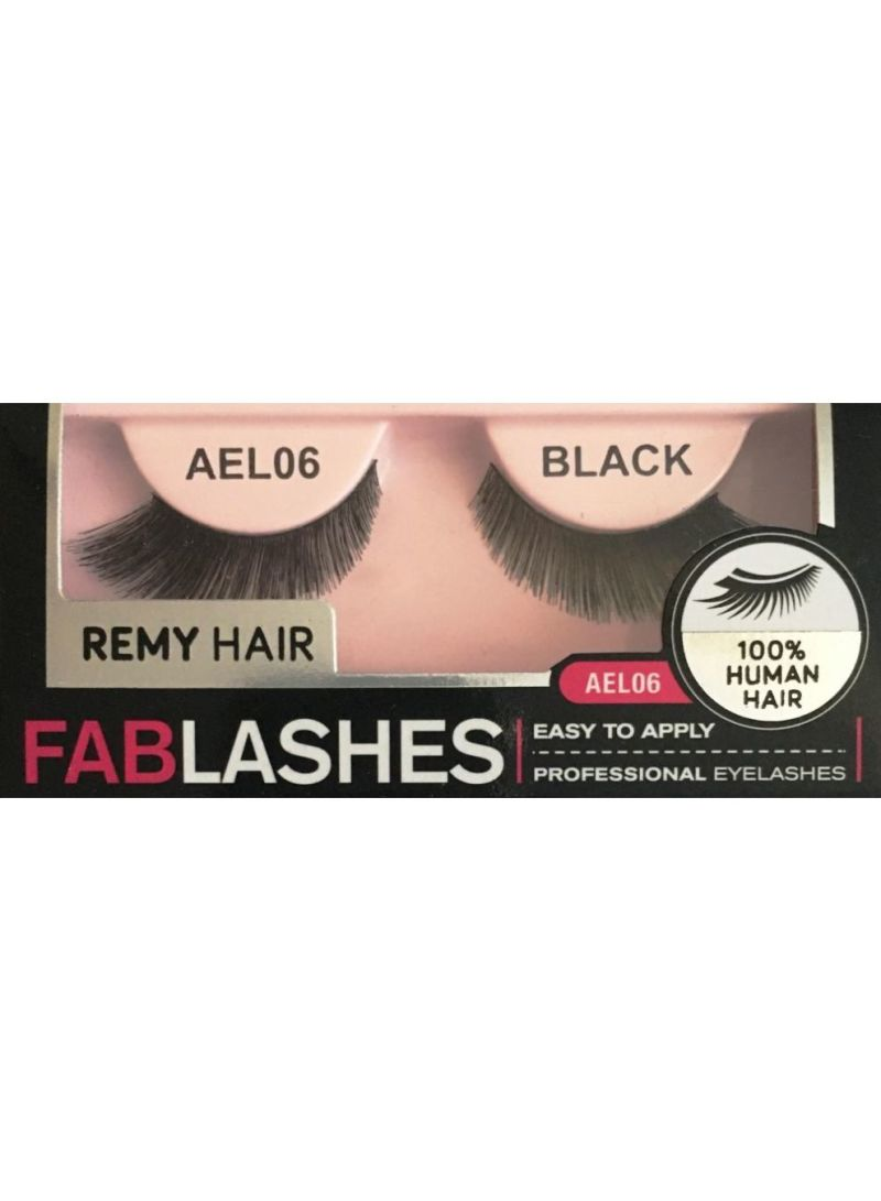 Shop Absolute Fablashes 100 Human Hair Eyelashes Ael06 Online In