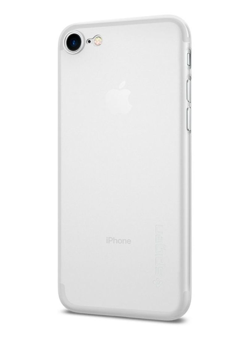 new concept 454b3 cd1b8 Shop Spigen Polypropylene Air Skin Cover Case For iPhone 8/iPhone 7 Soft  Clear online in Dubai, Abu Dhabi and all UAE