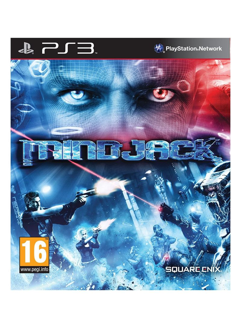 Shop Square Enix Holdings Mindjack - PlayStation 3 online in Riyadh, Jeddah  and all KSA