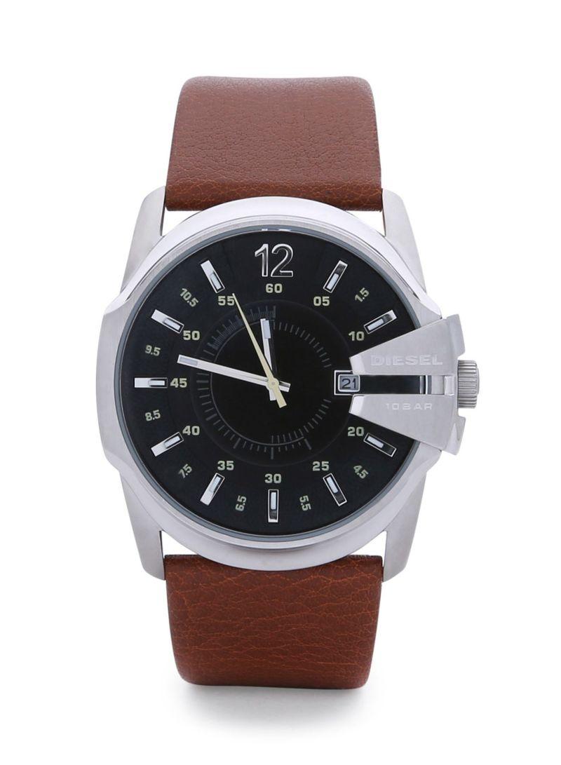 994456b20 سعر ساعة عقارب بسوار من الجلد DZ1617 للرجال فى السعودية | نون ...