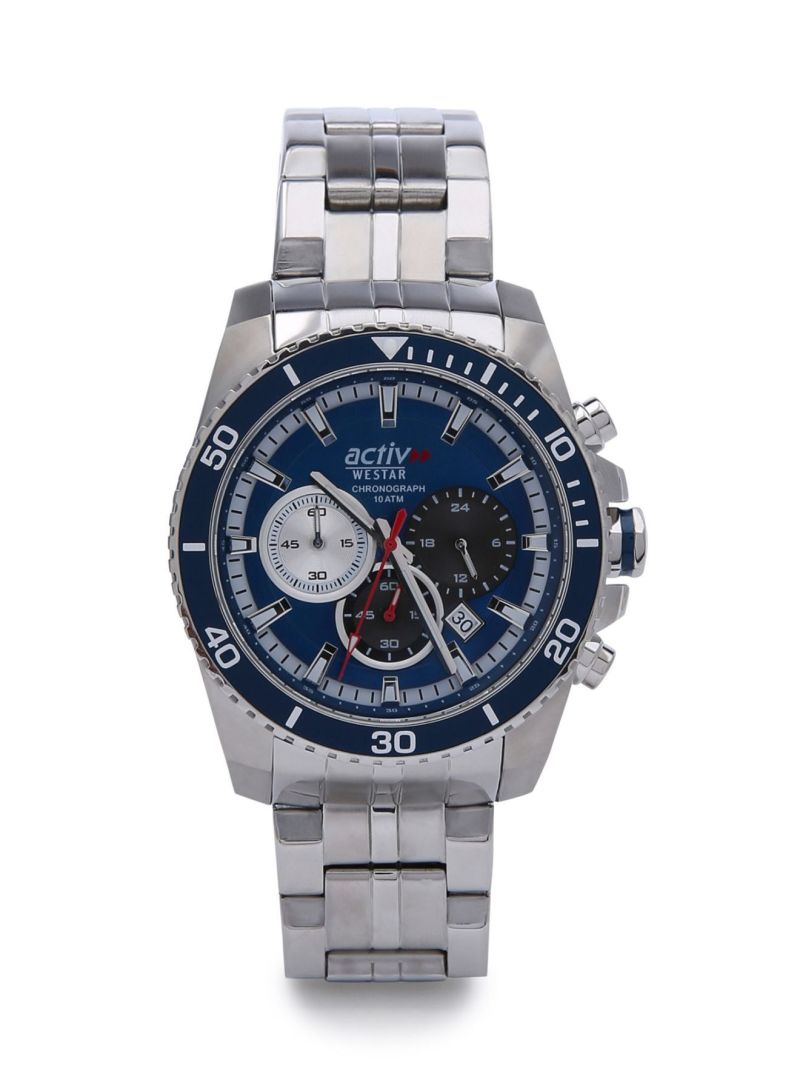 en men s chronograph leather sa watch watches mens analog active