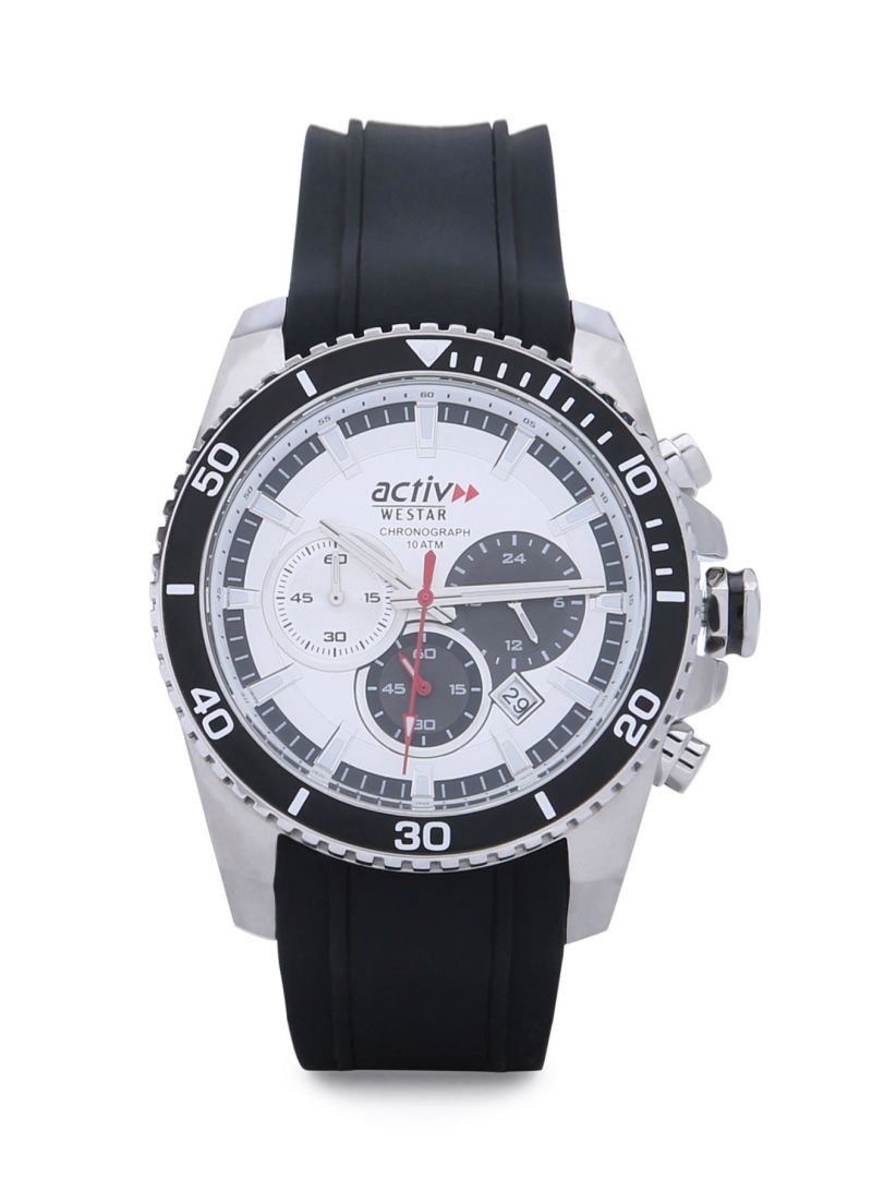 watches white fashion active co chronotech mens womens by ct stylish products black dial uk chronoswatches silicone cheap layer watch